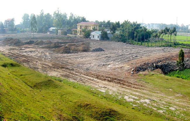 Hà Nội: Thu hồi hàng loạt khu đất chưa hoàn thành thủ tục pháp lý