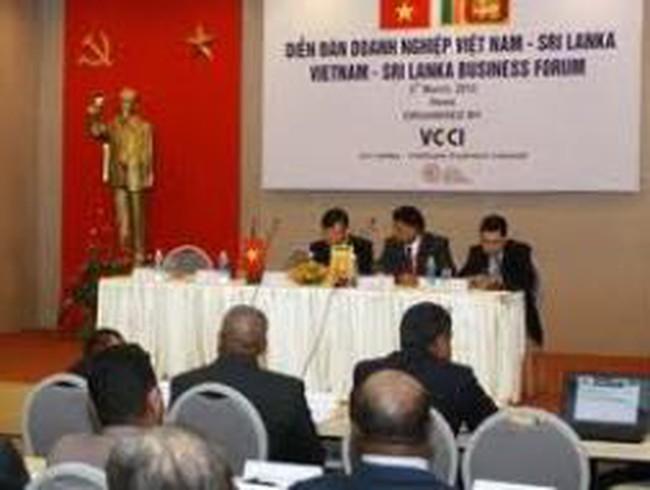 Tăng hợp tác doanh nghiệp Việt Nam-Sri Lanka