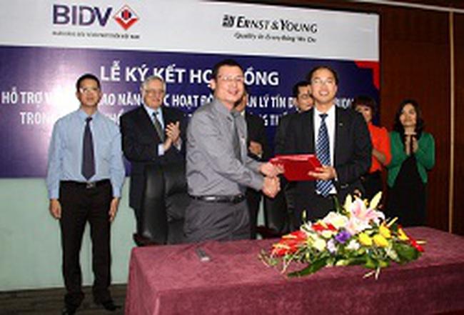 Ernst&Young hỗ trợ BIDV xây dựng khung quản lý tín dụng