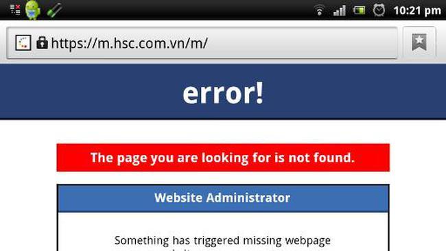 HSC  lỗi hệ thống giao dịch trực tuyến phiên 5/3, ai chịu trách nhiệm?