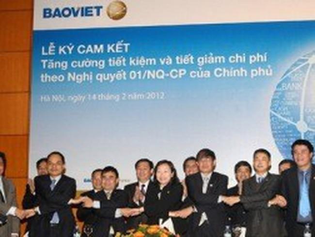 """Bộ Tài chính: Bảo Việt không công bố tiết kiệm kiểu """"hoành tráng"""""""
