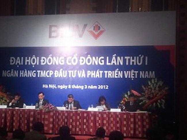 ĐHCĐ BIDV: Hiện có hơn 30 nhà đầu tư nước ngoài muốn là cổ đông chiến lược của BIDV