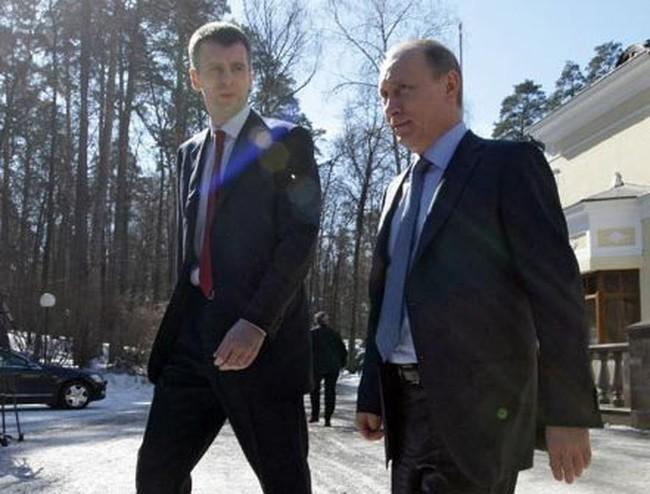 Putin mời tỷ phú kim loại Prokhorov vào nội các