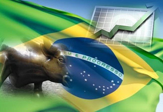 Braxin vượt Anh trở thành nền kinh tế lớn thứ 6 thế giới