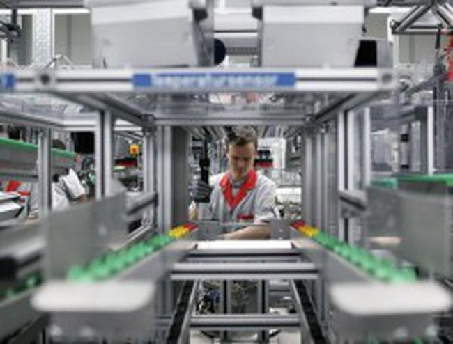 Sản xuất của Đức giảm sút do nhu cầu xuất khẩu thu hẹp