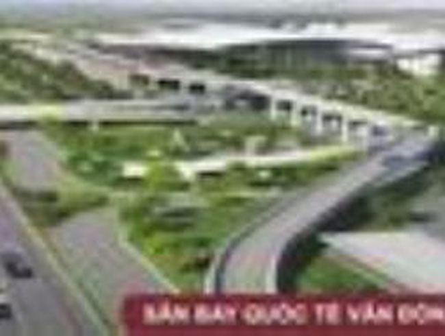 Điều chỉnh vị trí sân bay Vân Đồn, tỉnh Quảng Ninh
