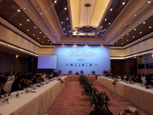5 năm WTO: Đa phần các doanh nghiệp đều kinh doanh có hiệu quả