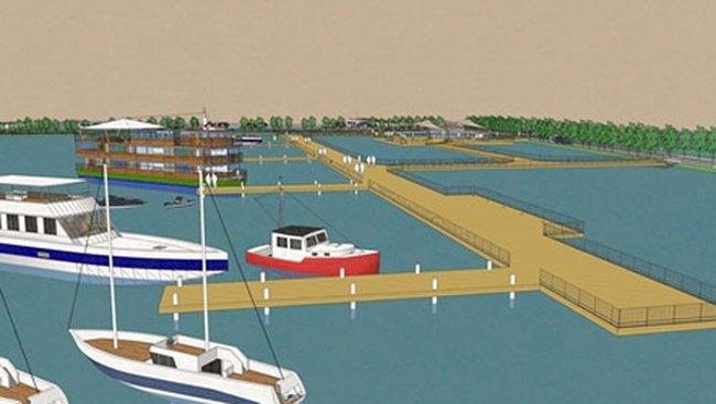 Vẫn xây bến đỗ du thuyền tại Hồ Tây