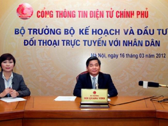 Bộ trưởng Bùi Quang Vinh: Đầu tư công sẽ từng bước nhường sân cho tư nhân