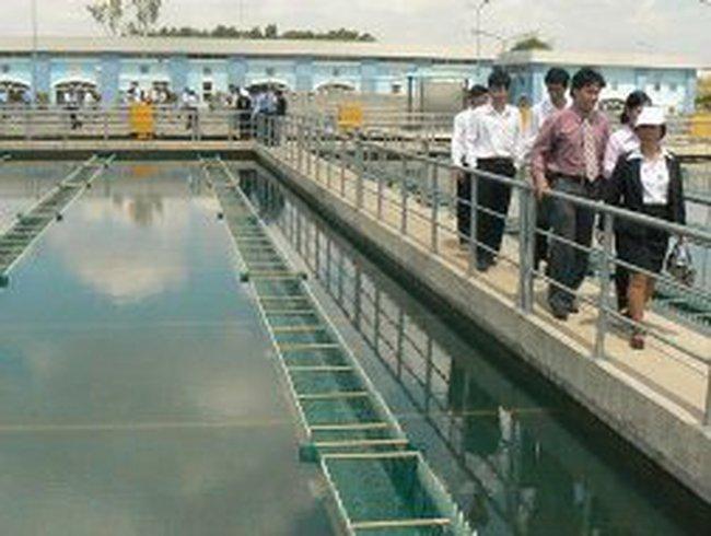 Gần 50 triệu đô la xử lý bùn các nhà máy nước