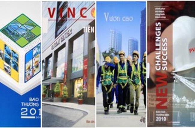 Bình chọn Báo cáo Thường niên 2012: Không chỉ dành cho doanh nghiệp có lãi