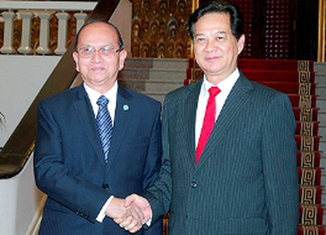 Tổng thống Myanmar chính thức thăm Việt Nam