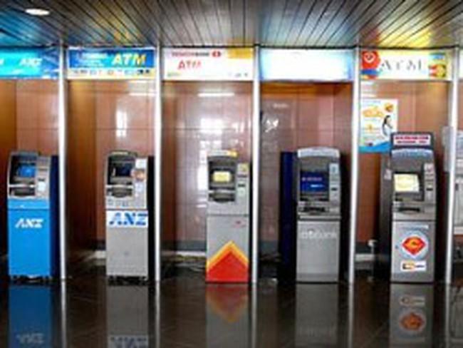 Các ngân hàng sắp xếp lại hệ thống ATM