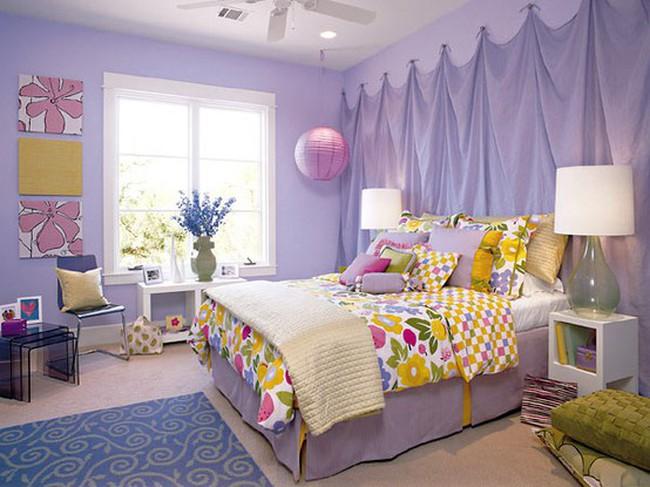 10 màu sắc lý tưởng cho phòng ngủ mùa hè