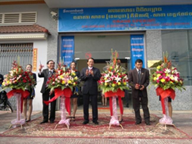 Sacombank Cambodia Plc: Dư nợ cho vay đạt 60 triệu USD
