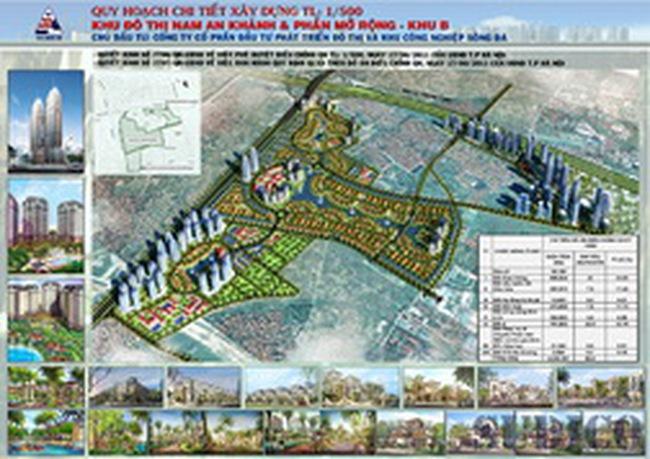Công bố Quy hoạch chi tiết 1/500  Dự án Nam An Khánh