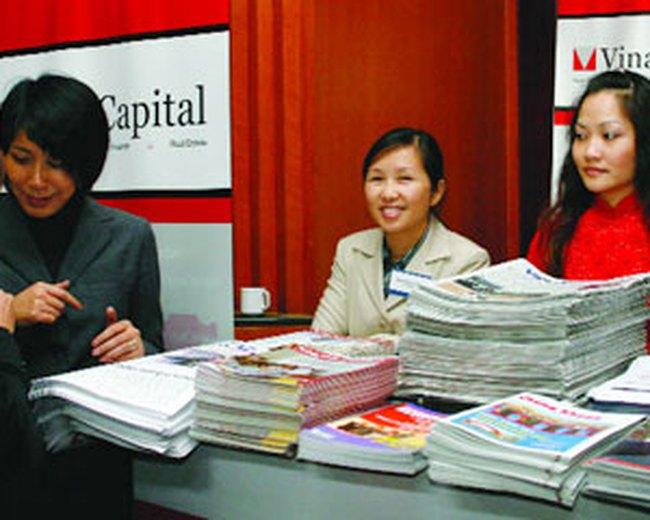 NAV của Qũy VOF Vinacapital tăng 39 triệu USD trong tháng 2