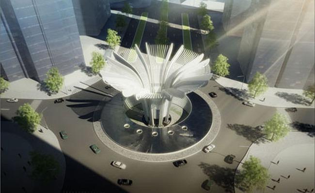 Ấn tượng với công trình biểu tượng của Khu đô thị mới Văn Phú