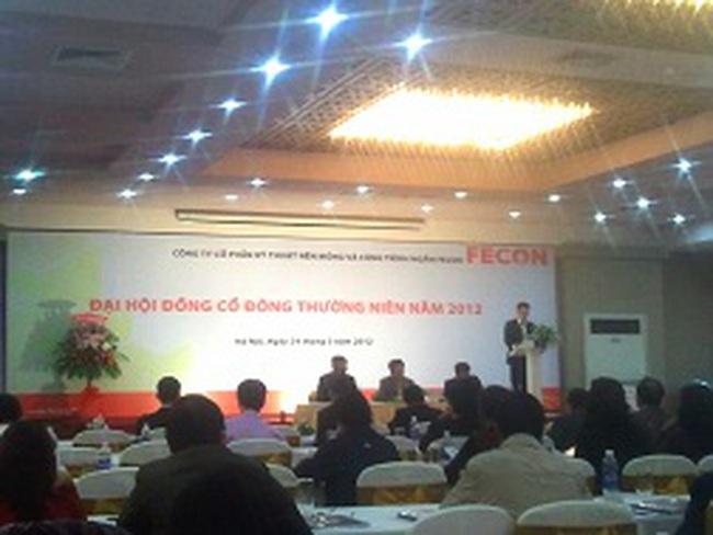 ĐHCĐ Fecon: Quyết tâm niêm yết trong quý II/2012