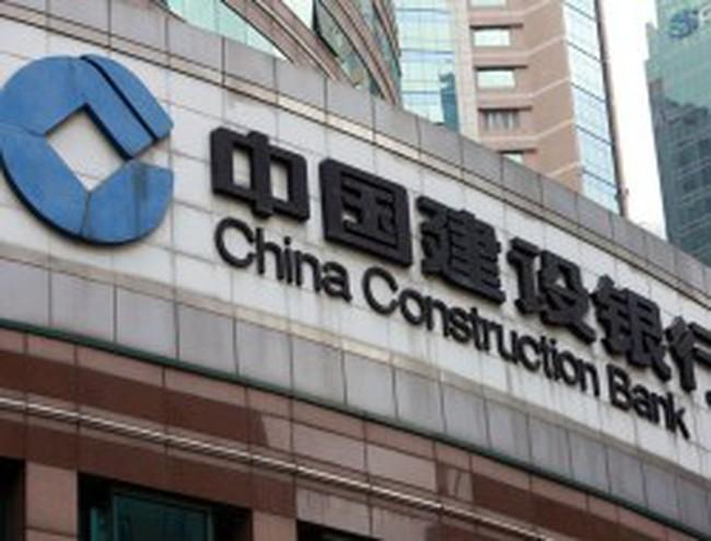 Ngân hàng Xây dựng Trung Quốc công bố lợi nhuận tăng 24%