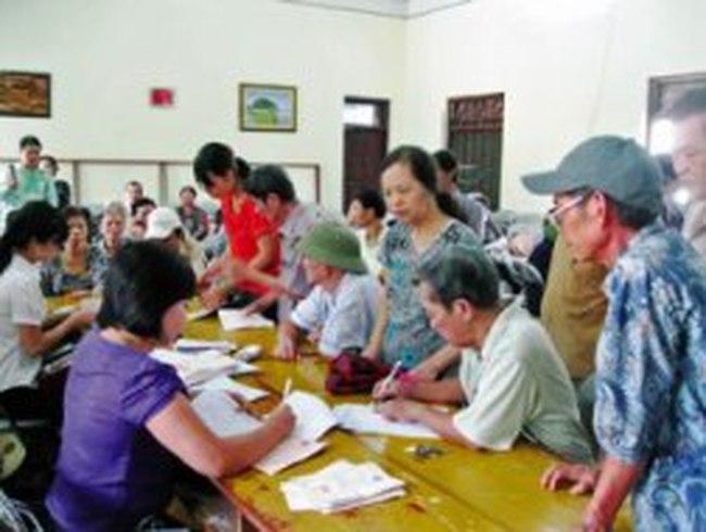 Dự kiến tăng 26,5% lương hưu và trợ cấp đối với cán bộ xã đã nghỉ việc