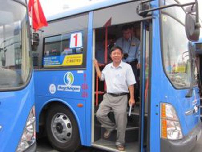 TPHCM nghiên cứu sản xuất 300 xe buýt chạy khí