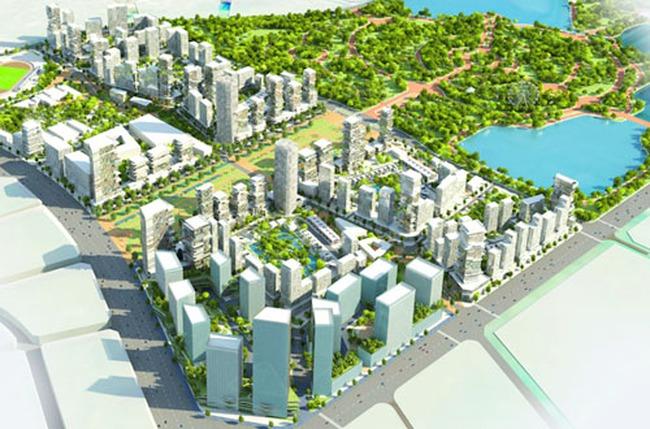 Sắp khởi công khu đô thị rộng 87ha tại Hà Nội