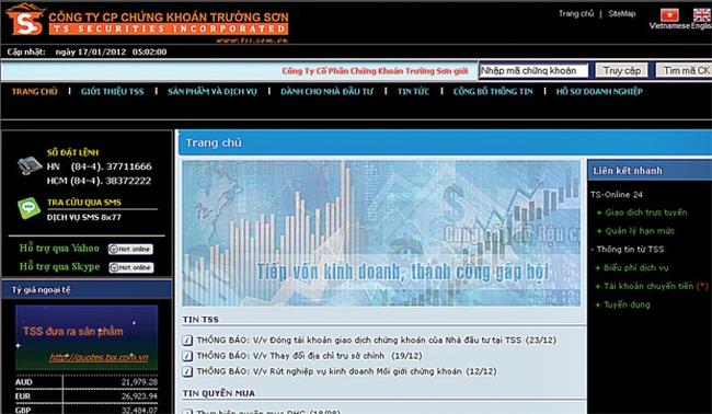 TSS: Hạn chót 31/3/2012 nhà đầu tư tất toán tài khoản sang CTCK khác