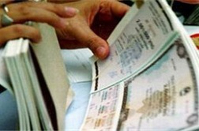 Cán đích phát hành TPCP trong quý I/2012