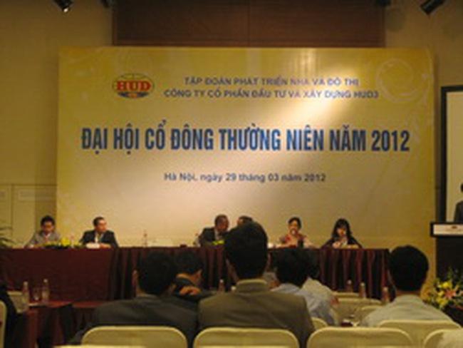 HU3: Phê duyệt đầu tư 4 dự án BĐS mới trong năm 2012