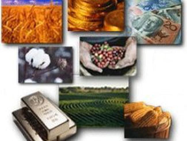 Giá hàng hóa sụt mạnh, dẫn đầu là kim loại và dầu mỏ