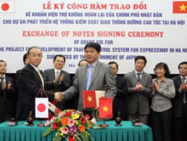 Nhật giúp Hà Nội kiểm soát giao thông đường cao tốc