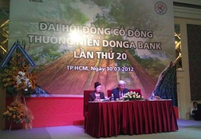 ĐHCĐ NH Đông Á: Đã có ngân hàng nhóm I đề xuất hợp nhất