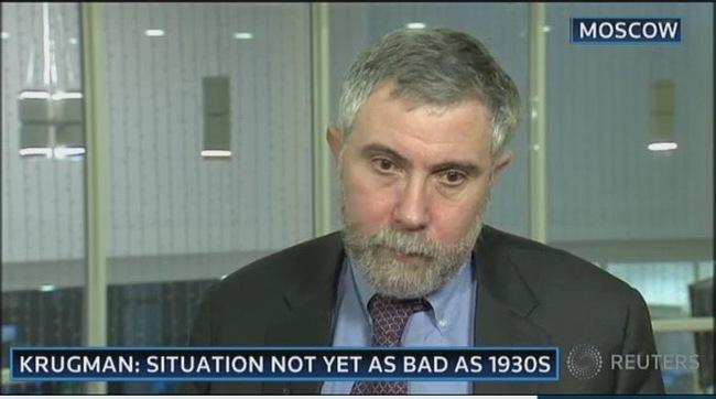 """Paul Krugman: Kinh tế thế giới thực ra đã rơi vào """"Đại Khủng hoảng"""""""
