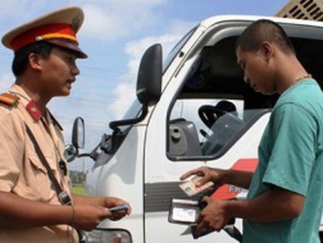 Sẽ phạt vi phạm giao thông qua tài khoản ngân hàng