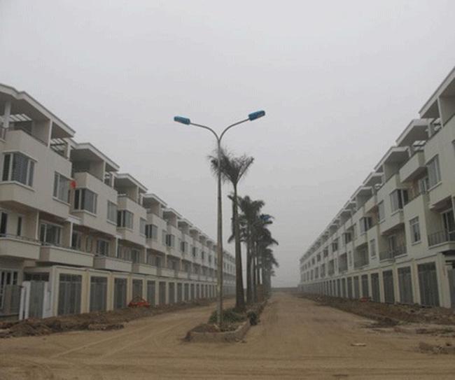 Giá biệt thự giảm nhưng vẫn trên 120 triệu đồng/m2
