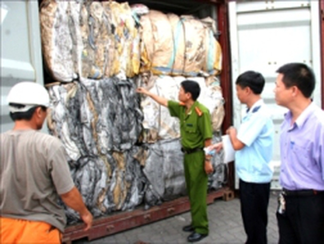 Dự kiến 80 loại phế liệu được nhập khẩu làm nguyên liệu sản xuất