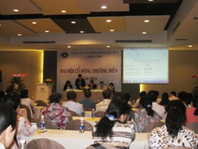 TS4: Năm 2012 sẽ chào bán CP tăng vốn tỷ lệ 1:1