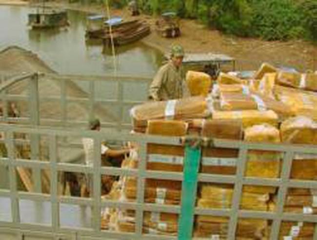 Trung Quốc tăng cường mua cao su Việt Nam qua cửa khẩu Móng Cái