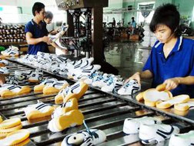 Giảm hợp đồng xuất khẩu da giày