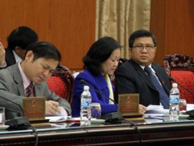 Thường vụ Quốc hội xem xét đề án tái cơ cấu nền kinh tế