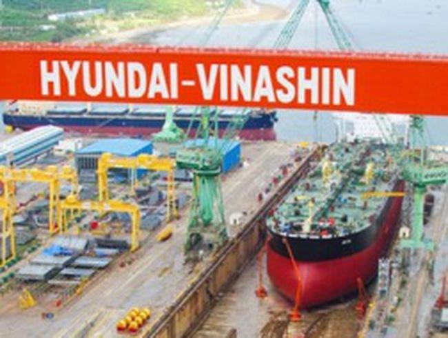 """Bị """"xù"""" hợp đồng, Hyundai - Vinashin xin hoãn thuế"""