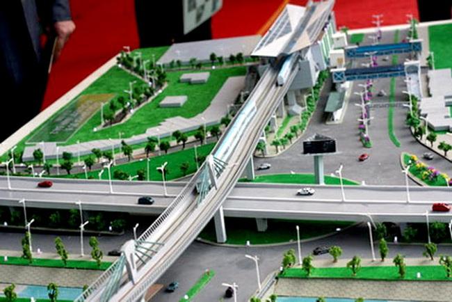 """Hà Nội tiếp tục """"thúc"""" tiến độ đường sắt đô thị"""