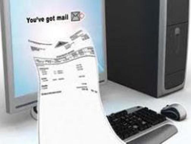Ngành điện thí điểm hóa đơn điện tử