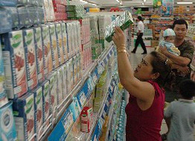 Giá sữa tăng liên tục