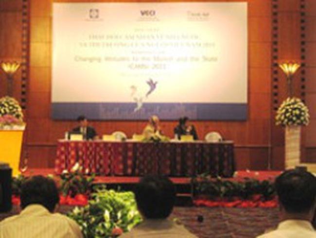Công bố kết quả khảo sát cảm nhận về Nhà nước và thị trường ở Việt Nam