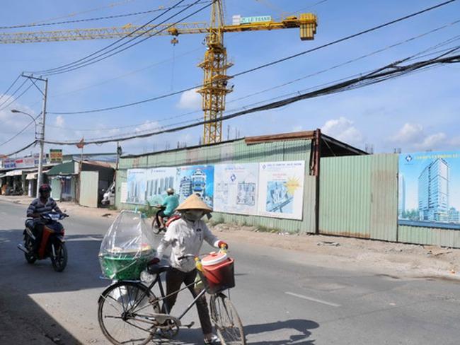 TPHCM: Giá địa ốc khó giảm vì chính sách