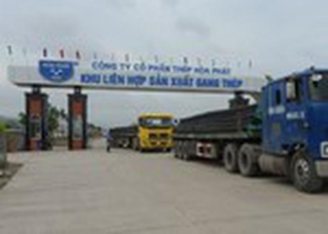 HPG: Q1 tiêu thụ gần 160.000 tấn thép xây dựng