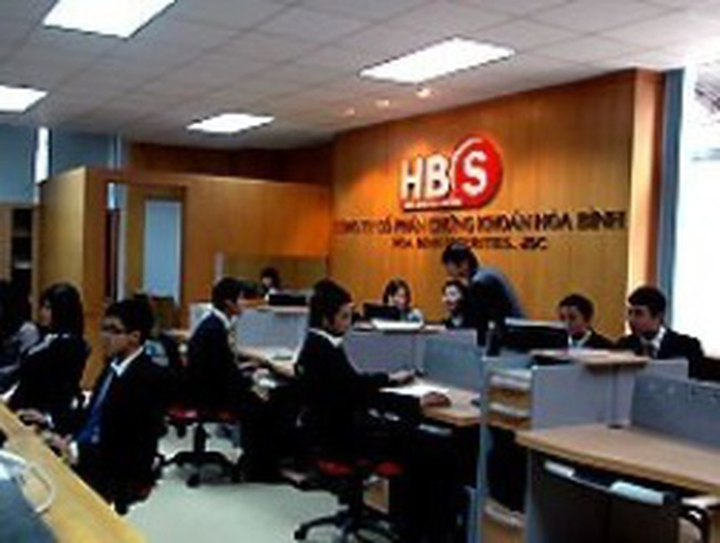 HBS: Lãi 51 triệu đồng quý I