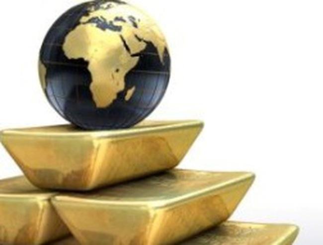 Nỗi lo nợ công kéo giá vàng xuống dưới 1.650 USD/ounce